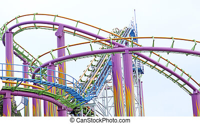 rollercoaster at day