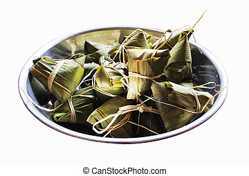 rice dumplings for dragon boat festivals
