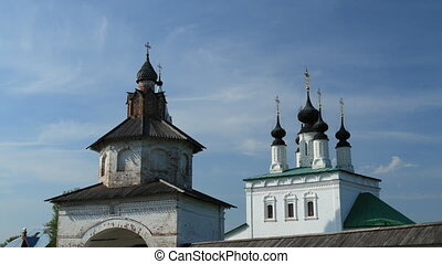 Alexandrovsky convent in Suzdal tim - Suzdal , Russia