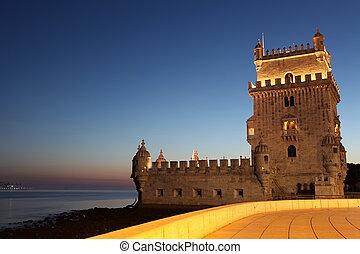 Lisbon, Portugal - Torre de Belem, Lisbon, Portugal