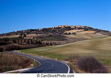 Pienza Tuscany (Italy) landscape