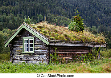 Old house - Old traditional house in Norway.