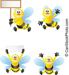 Bee cartoon collection