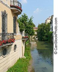Padua, Italy - View of the town of Padua (Padova) in Veneto,...