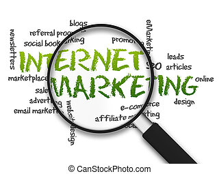 Magnifying Glass - Internet Marketing - Magnified...