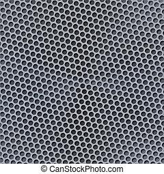 Carbon template. 3d render texture