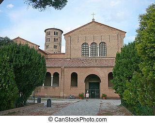 St Apollinare in Classe, Italy - Church of Sant Apollinare...