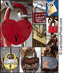 Padlocks - A lot of old padlocks