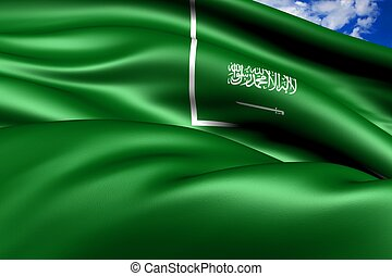 Civil Ensign of Saudi Arabia