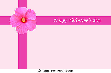 Happy Valentine card - Valentine card with love letter with...