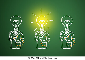 A good business intelligence. - The lamp is lit, the talent...