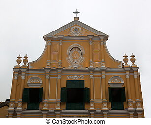 Church of St. Dominic. Macau. - Church of St. Dominic...
