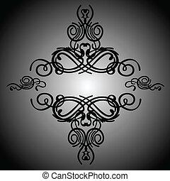 Calligraphy Romb