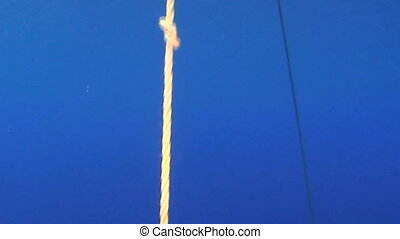 Emergency Decompression Tank - Decompression line with...