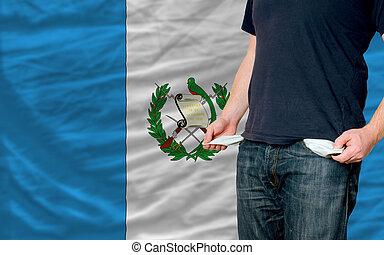 recesión, impacto, joven, hombre, sociedad, guatemala