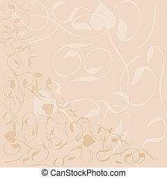 flower background vector banner pattern frame floral theme