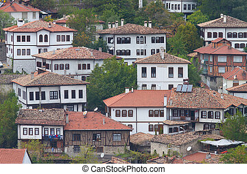 Traditional Turkish Houses from Safranbolu