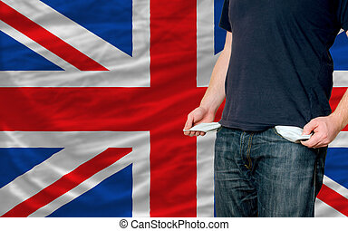 recession impact on young man and society in united kingdom...