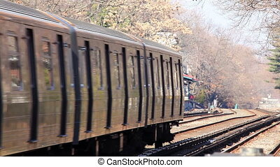 Subway train - New York City Metro train