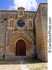 Colegiata de Nuestra Señora del Manzano, Castrojeriz - Spain...