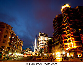 Downtown Denver - Denver skyline at blue hour