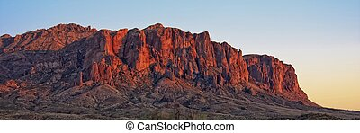 Desert Mountians - The Superstition Mountains are a range of...