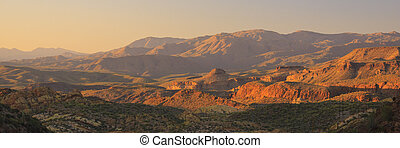 Arizona Desert - Desert landscape near Phoenix, Arizona