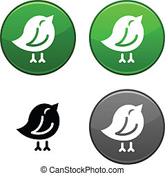 Bird button.