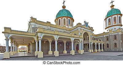 Bole Medhane Alem Church in Addis Ababa, Ethiopia