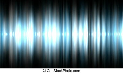 Audio waveform background seamless loop