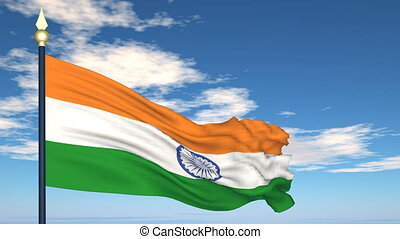 Flag Of India - Developing the flag of India