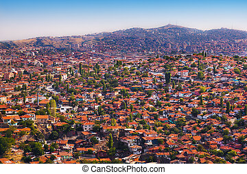 Old Ankara Turkey - architecture travel background