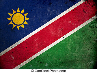 Grunge Flag the Nambia