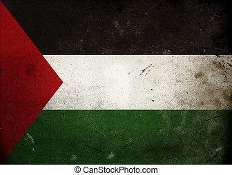 Grunge Flag Palestine