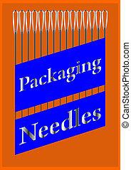 A set of needles.