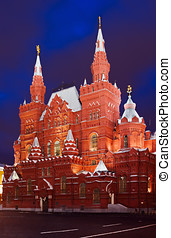 National Historic museum in Moscow - National Historic...