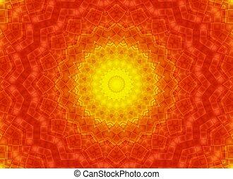 Red Yellow pattern