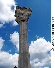 Pillar of the ancient city