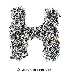 螺絲, 字母表