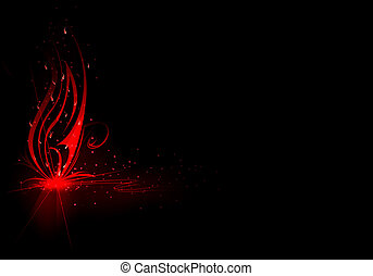 vivid abstract background
