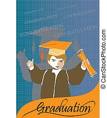 Graduation congratulation celebrati