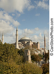 One of most famous mosque, also marked as one of Asian 7th wonders located in Istanbul, Turkey