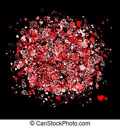 Valentine frame for your design