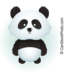 Panda - Cute Cartoon Panda