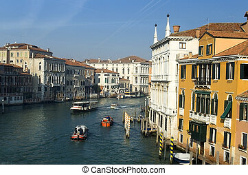 the Grand Canale - Venice,view of the Grand Canale