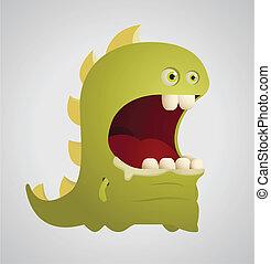 Cute Dinosaur - Cartoon Character
