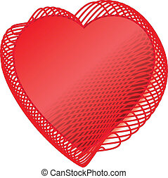 Valentine Red love heats