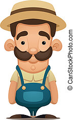 Farmer - Cartoon Character