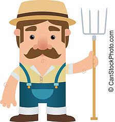 Farmer - Cartoon Character