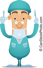 Surgeon - Cartoon Character